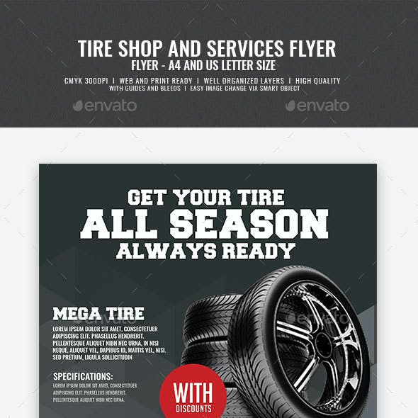 Tire Store Flyer