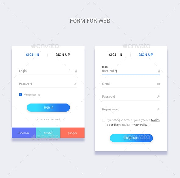 Form For Web - Forms Web Elements