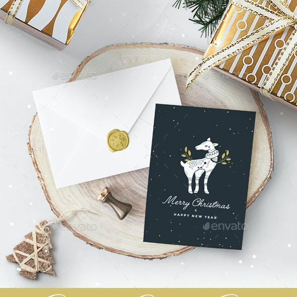 10 Christmas Greetings Cards