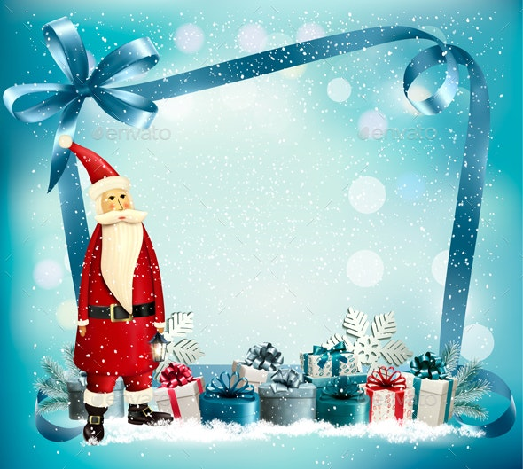 26+ Background Santa Claus