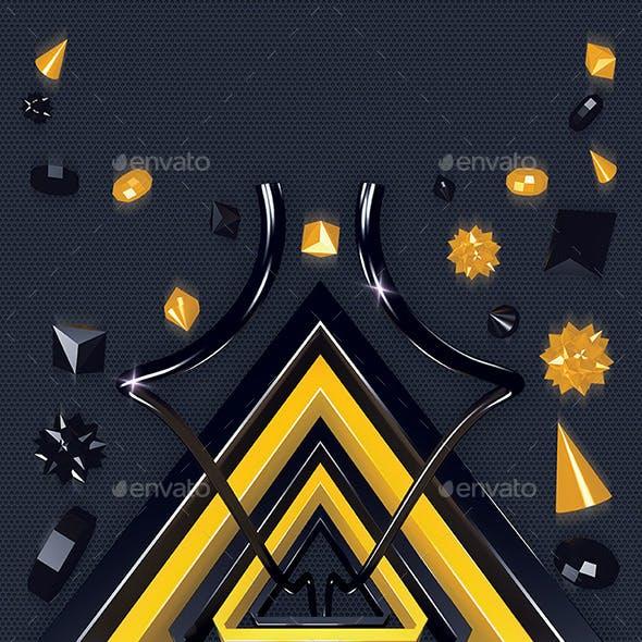 3D Spiritual Symbols