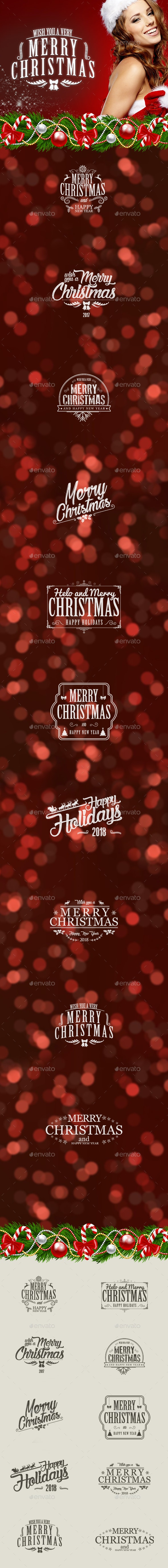 Christmas Sticker - Badges & Stickers Web Elements