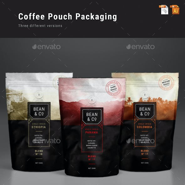 Coffee Pouch Packaging