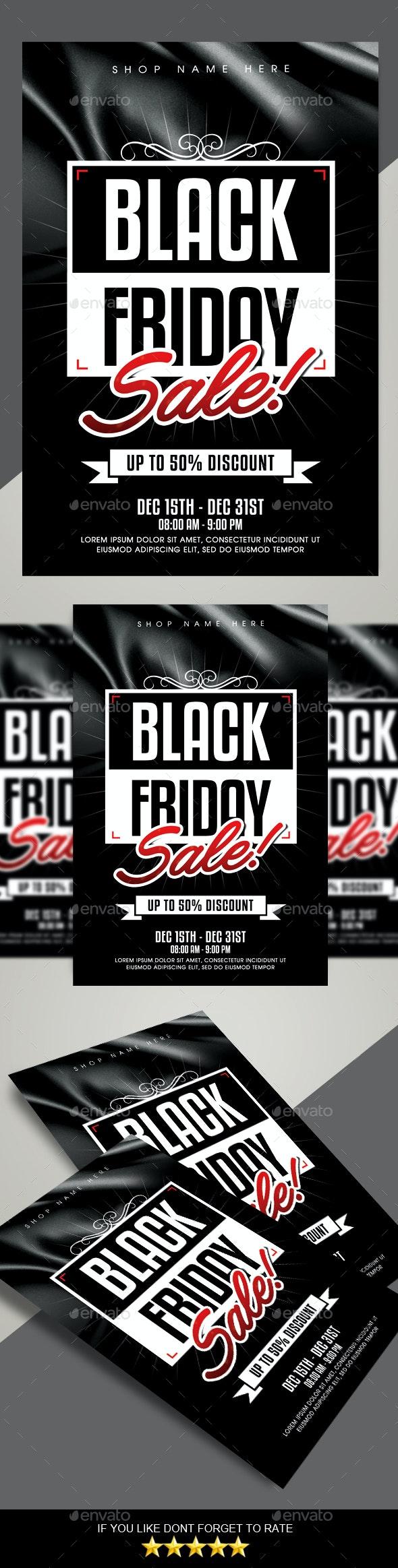Black Friday Sale Flyer - Commerce Flyers
