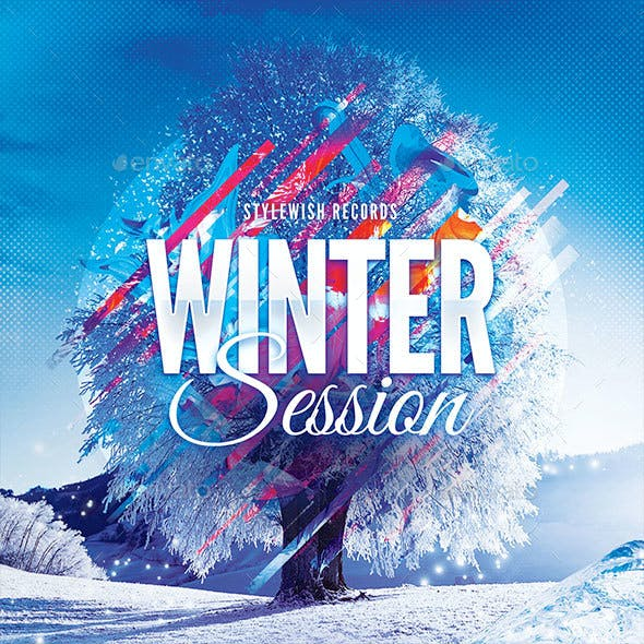 Winter Session CD Cover Artwork