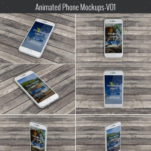 Animated Phone Mock-Up V01