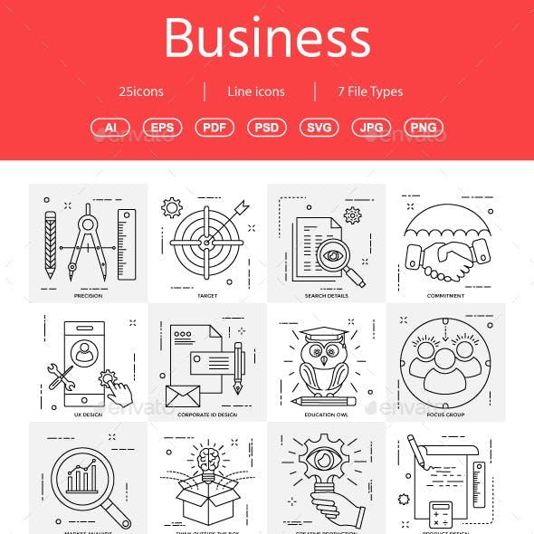 Business Illustration line vol 4