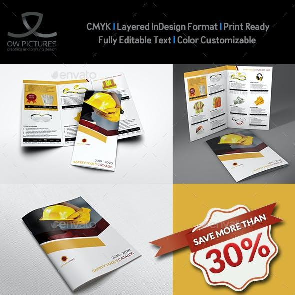 Safety Tools Catalog Brochure Bundle Template