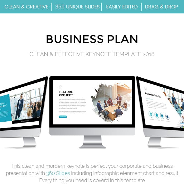 Clean - Effective Business Keynote Template 2018