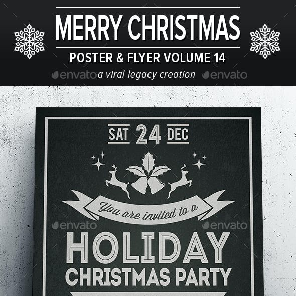 Merry Christmas Poster / Flyer V14