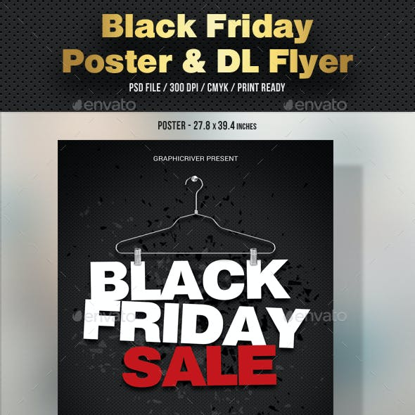 Black Friday Poster and DL Flyer