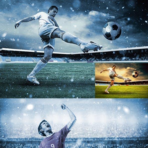 Let It Snow 2 Photoshop Action