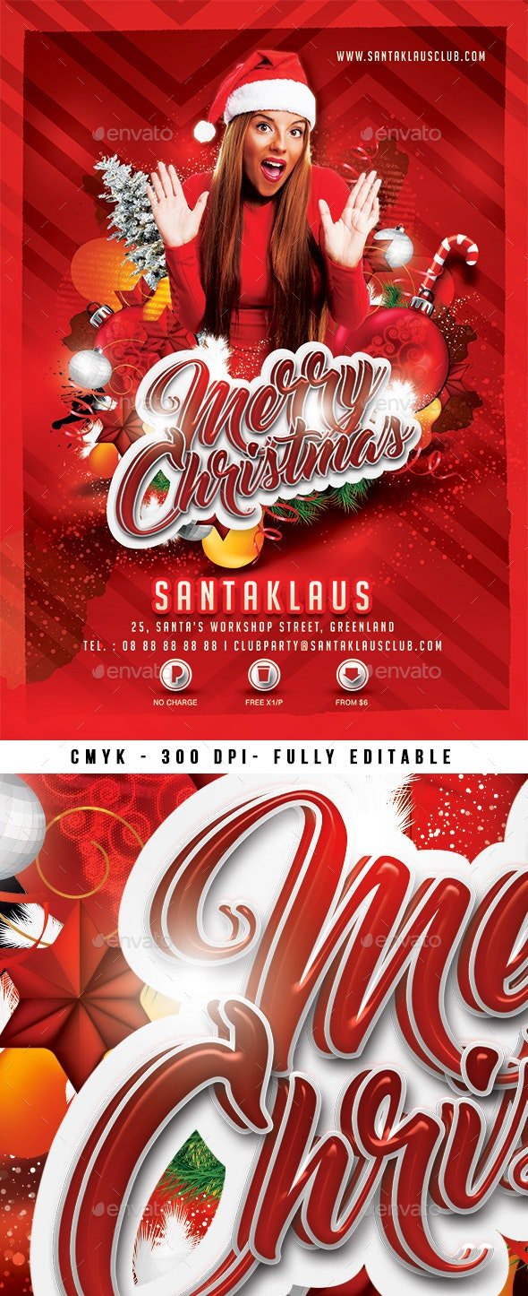 Merry Christmas - Clubs & Parties Events