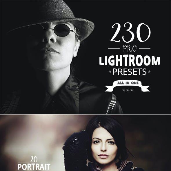230 Pro Lightroom Presets