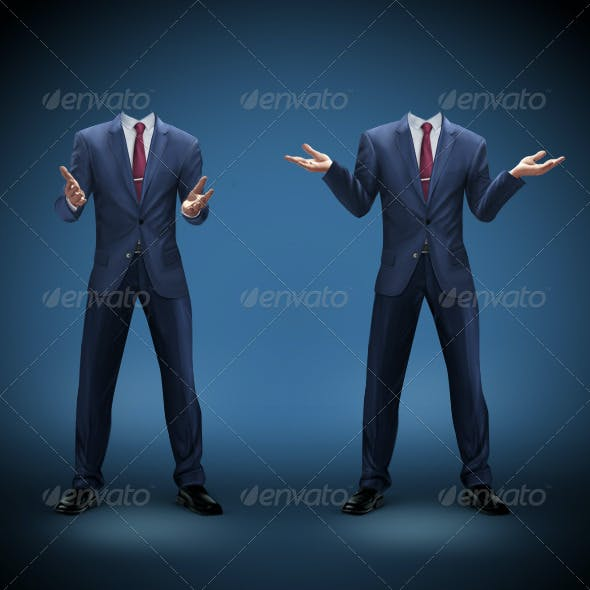 Businessman Template 2