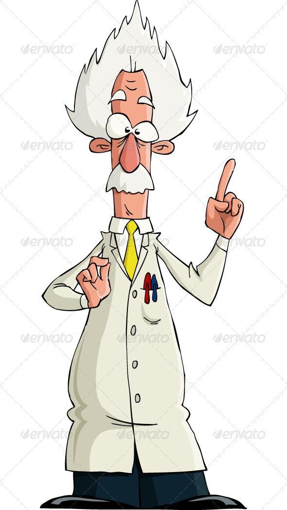 Scientist - People Characters