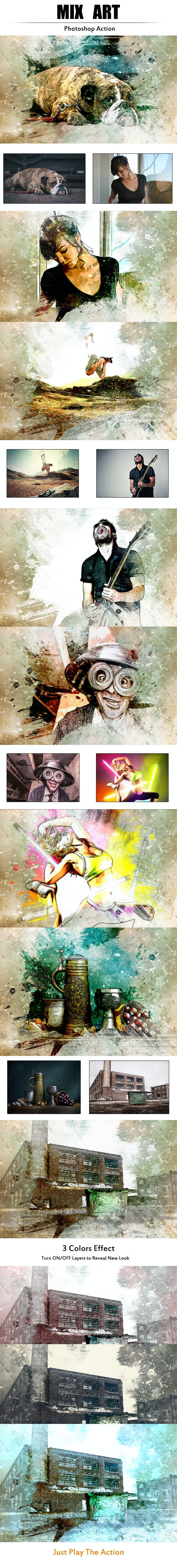 Mix Art - Photo Effects Actions