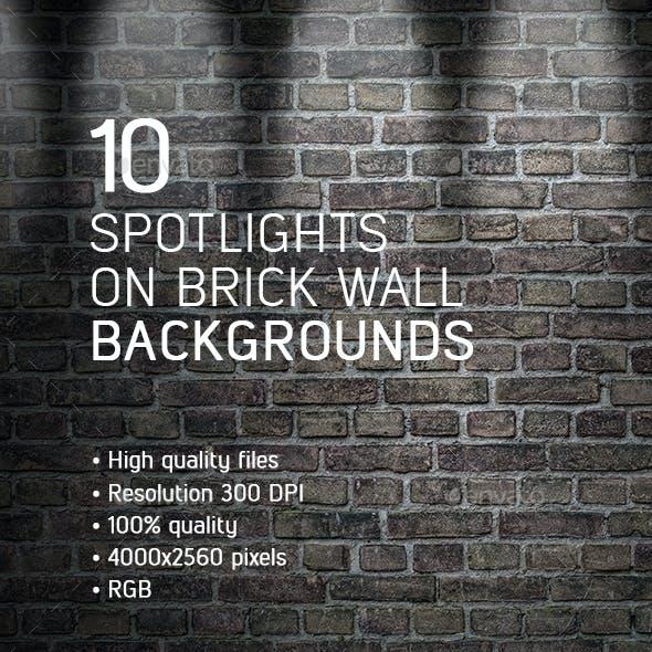 10 Spotlights on Brick Wall Backgrounds