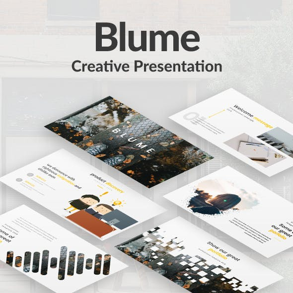 Blume Creative Keynote Template