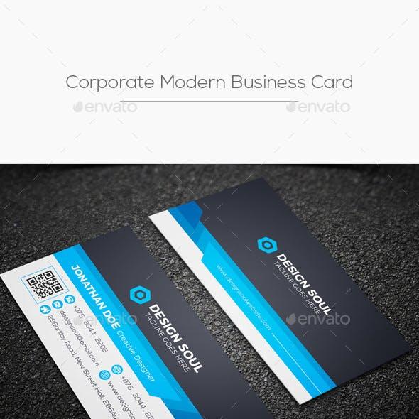 Corporate Modern Business Card