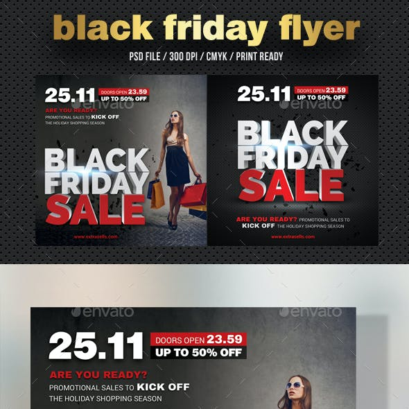 Black Friday Flyer V07