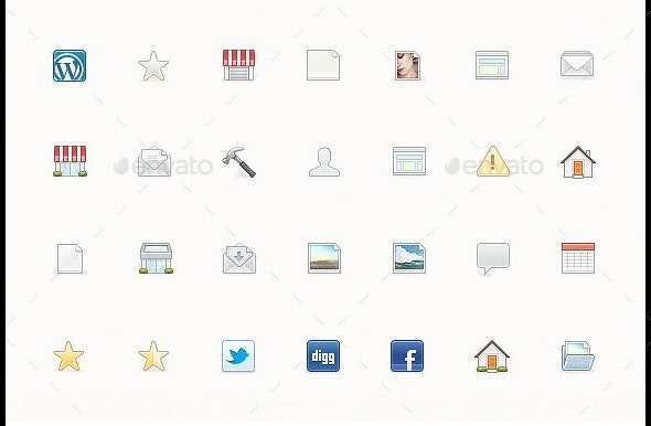 IconJar. 353 Icons - Software Icons