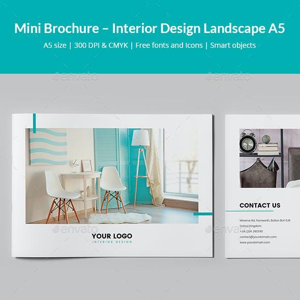 Mini Brochure – Interior Design Landscape A5