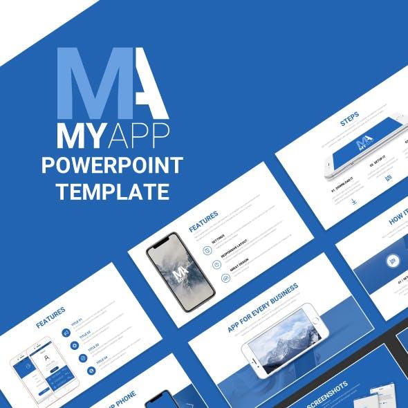MyApp Powerpoint Template