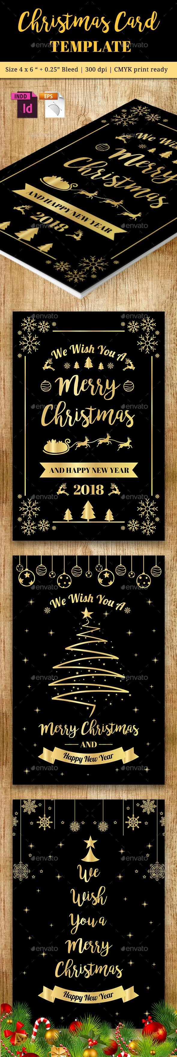Christmas Card Vol. 5 - Cards & Invites Print Templates