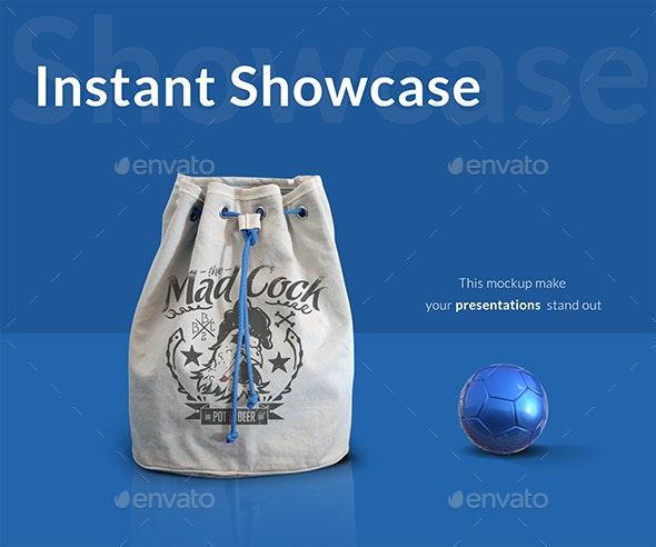 Sport Bag Mockup - Product Mock-Ups Graphics