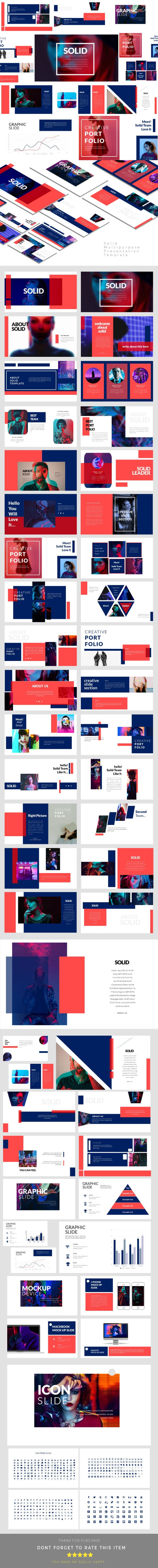Solid - Creative Keynote Presentation Templates