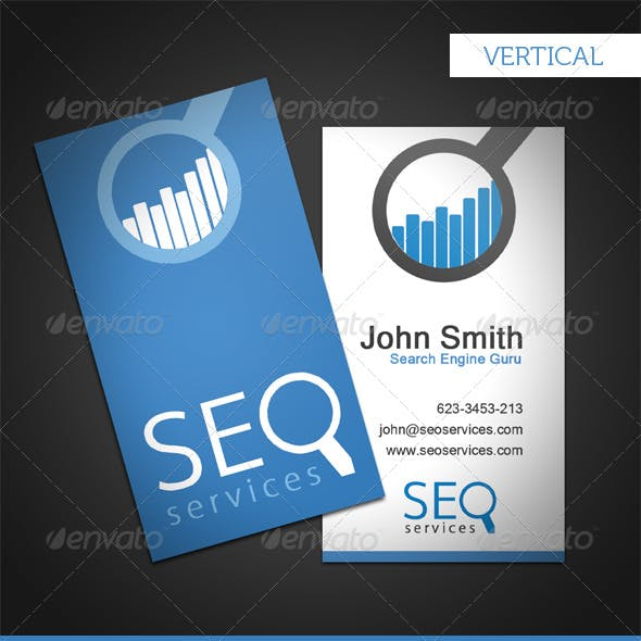 SEO Services Business Card