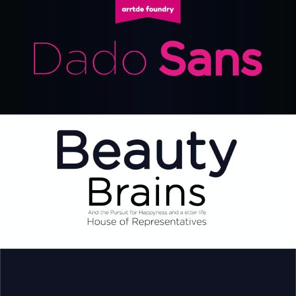 Dado Sans Typeface