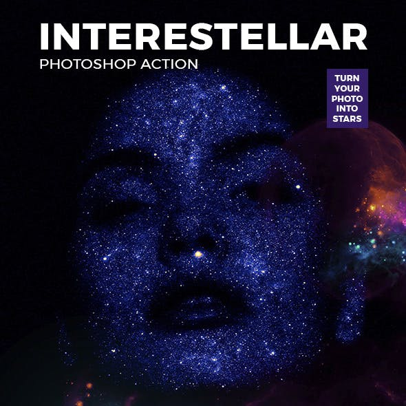 Interestellar Photoshop Action