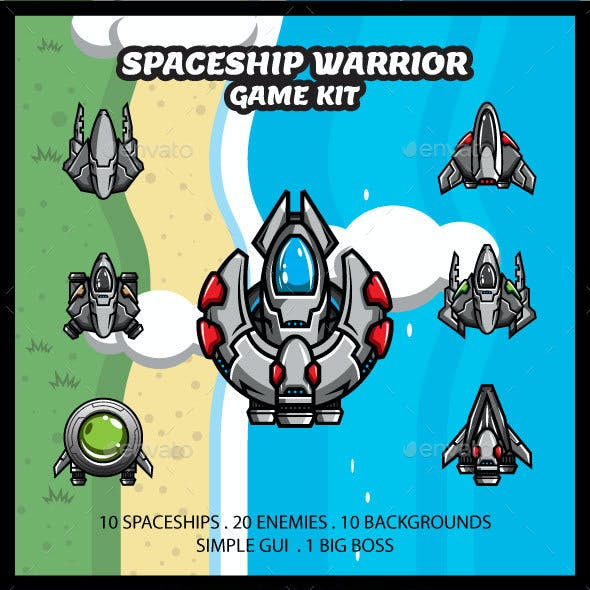 Spaceship Warrior Game Kit