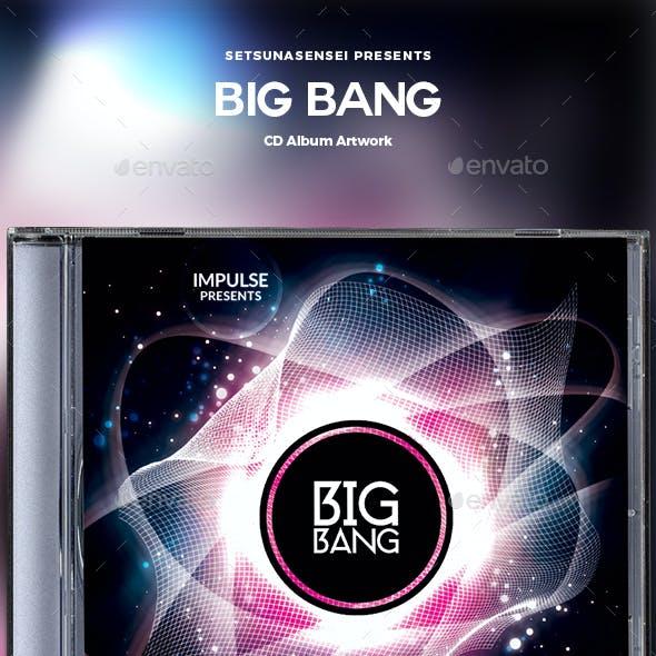 Big Bang CD Album Artwork