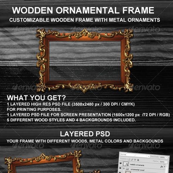 Ornamental Wooden Frame