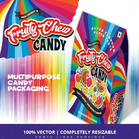 Mixed Fruit Candy Packaging