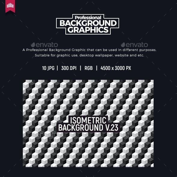 Isometric Background V.23