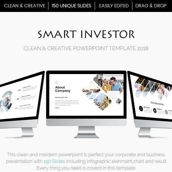 Smart Investor - Efffective Powerpoint Template 2018