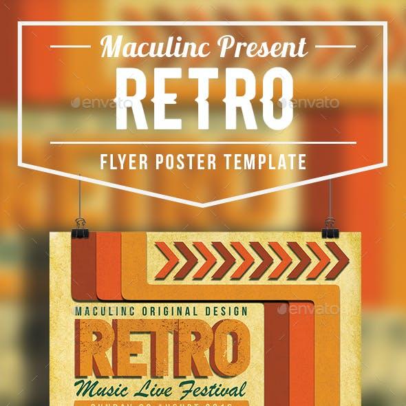 Retro Flyer/Poster Vol.2