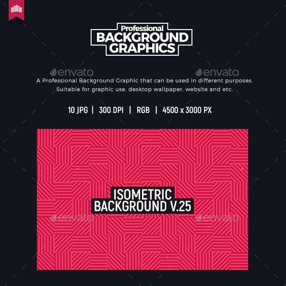 Isometric Background V.25