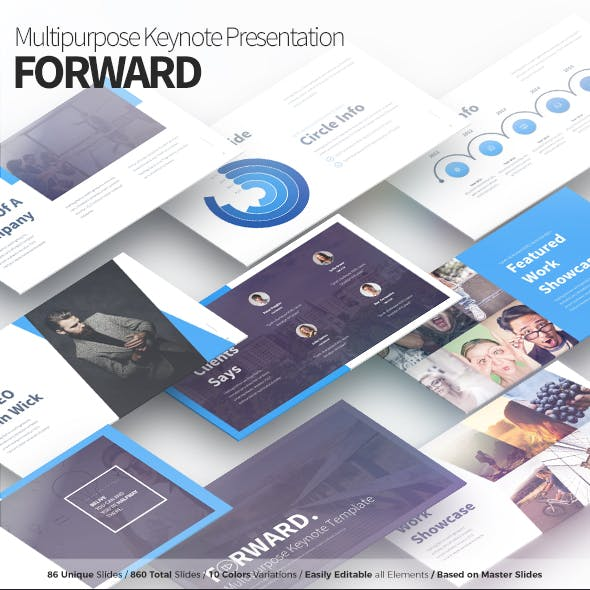Forward - Multipurpose Keynote Presentation