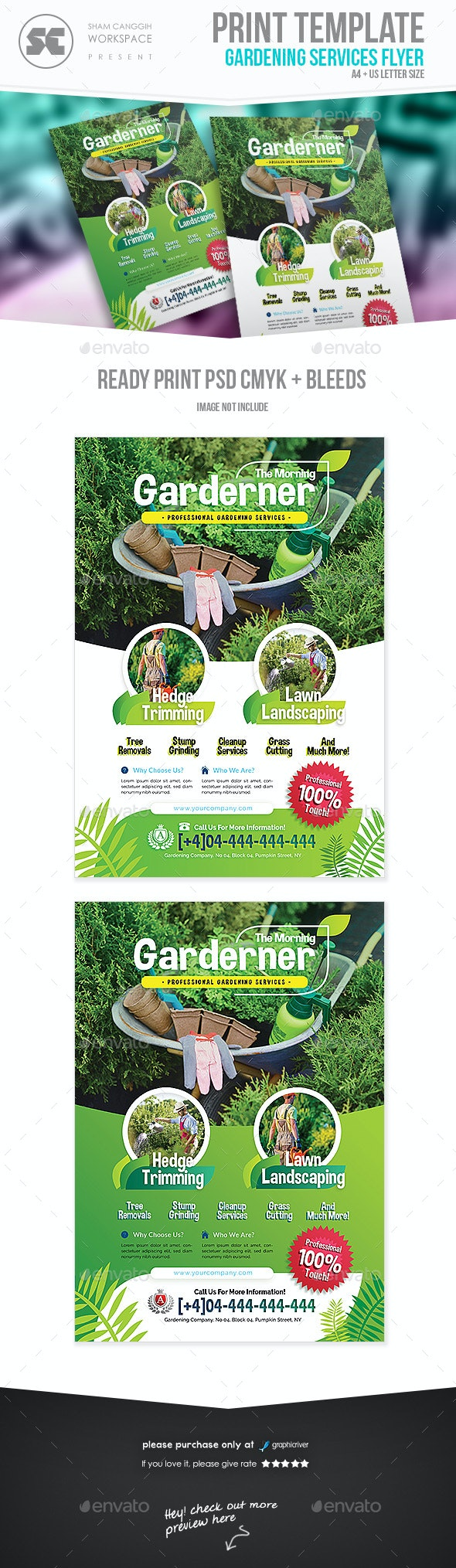 Garden Service Flyer - Miscellaneous Events