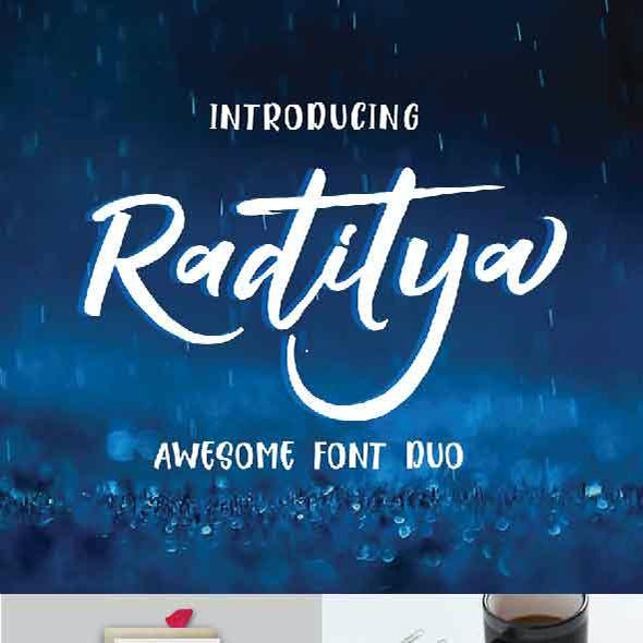 Raditya Hand Script
