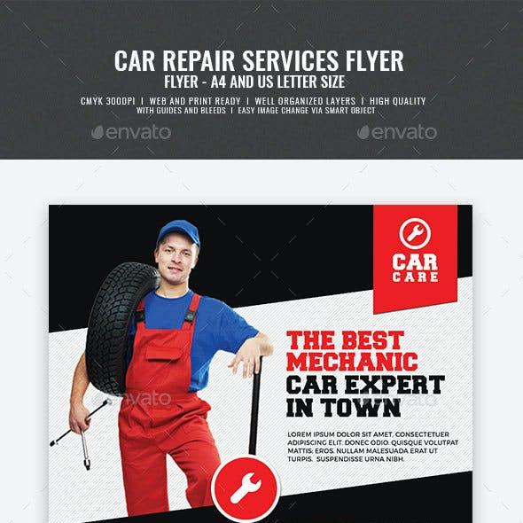 Car Mechanic Promotional Flyer