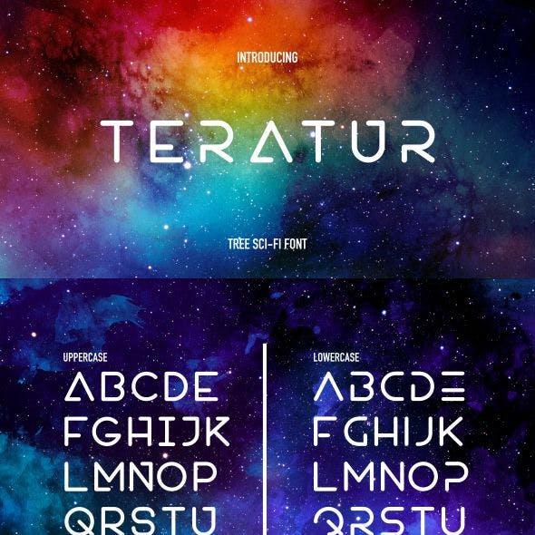 Teratur Typeface