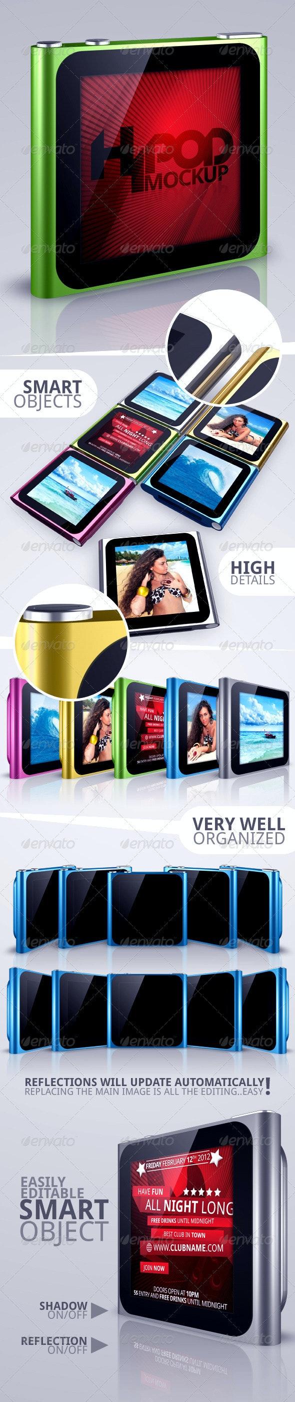 HiPod Nano Mock-Up - Miscellaneous Displays