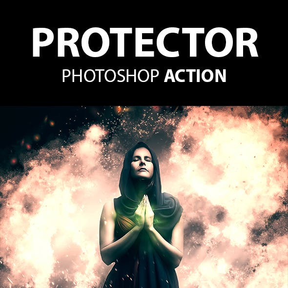 Protector Photoshop Action
