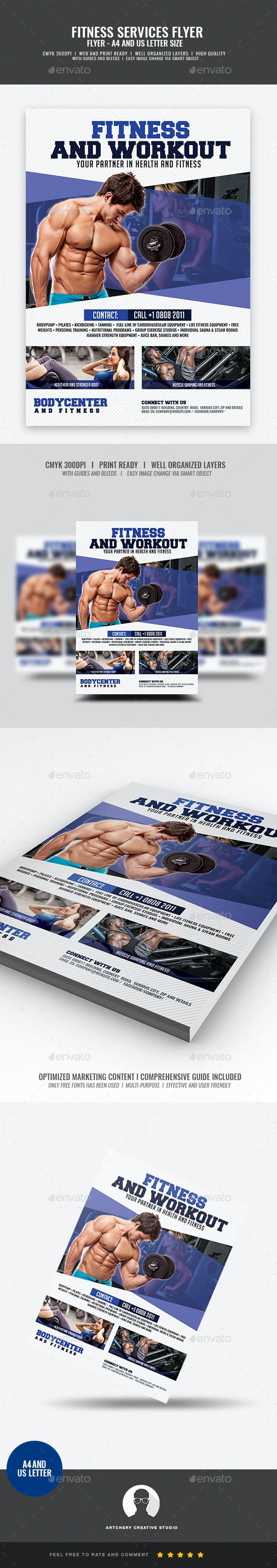 Gym and Sports Flyer - Sports Events